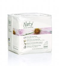 Naty Nature Womencare Sanitary Towels - Night (10 towels)