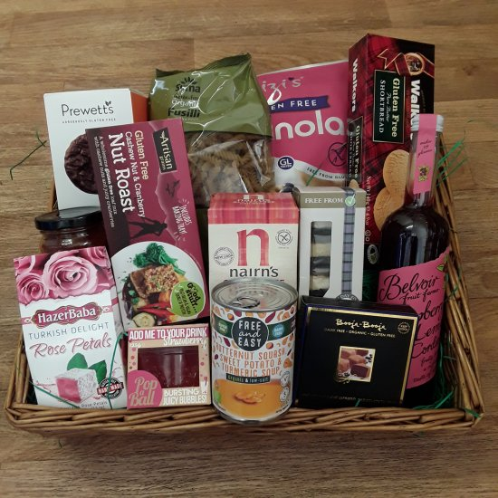 Large Gluten Free Hamper - Click Image to Close