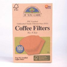 If you Care Coffee Filters - Size 4 (100 filters)