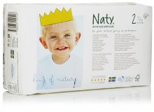 Naty by Nature Babycare Size 2 Extra Small Nappies (pack of 34)