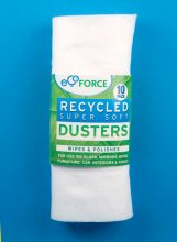 Ecoforce Recycled Super Soft Dusters - 10 pack