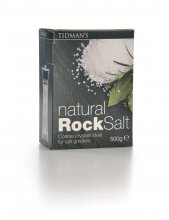 Tidman's Natural Rock Salt - 500g