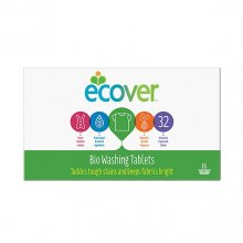 Ecover Laundry Tablets - Biological (16 x 2 tablets)
