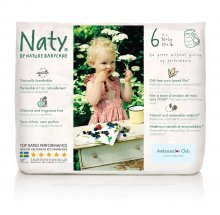 Nature Babycare Pull On Nappy Pants - Size 6 Extra Large. 16+ kg, 35+ lbs (pack of 18)