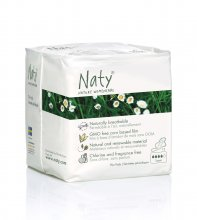 Naty Nature Womencare Sanitary Towels - Super (13 towels)