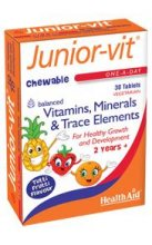 Health Aid - Junior-vit - 30 Tablets