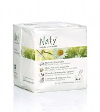 Naty Nature Womencare Sanitary Towels - Normal (15 towels)