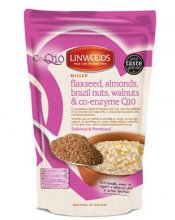 Linwoods Milled Flaxseed Almonds Brazil Nuts Walnuts & Co-Enzyme Q10 - 360g