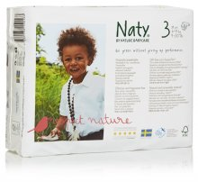 Naty by Nature Babycare Size 3 Small Nappies (pack of 31)