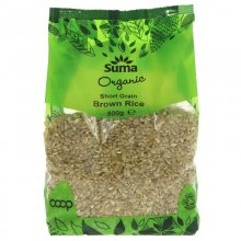 Suma Organic Short Grain Brown Rice - 500g