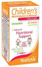 Health Aid - Children's Multivitamins & Minerals - 30 tablets