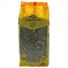 Suma Dark Speckled Lentils - 500g