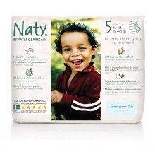 Nature Babycare Pull On Nappy Pants - Size 5 Junior. 12-18 kg, 26-40 lbs (pack of 20)
