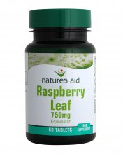 Natures Aid Raspberry Leaf 375mg (60 tablets)