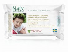 Nature Babycare ECO Sensitive Wipes Unscented (56 wipes)