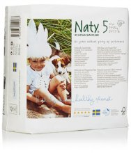 Naty by Nature Babycare Size 5 Large Nappies (pack of 22)