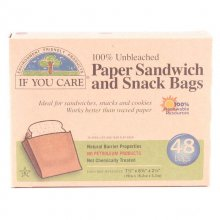 If you Care Snack and Sandwich Bags (48 bags)