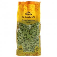 Suma Green Split Peas - 500g