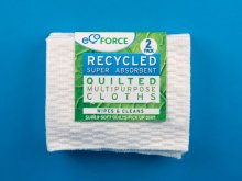 Ecoforce Recycled Multipurpose Cloths (2 cloths)