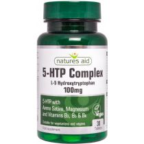 Natures Aid 5-HTP Complex - 100mg (30 tablets)