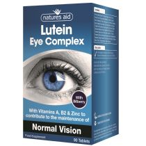 Natures Aid Lutein Eye Complex with Bilberry (30 tablets)