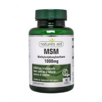 Natures Aid MSM 1000mg (90 tablets)