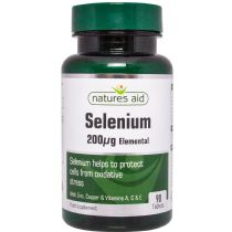 Natures Aid Selenium 200μg (90 tablets)