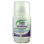 Faith Aloe Vera & Chamomile - Crystal Roll-on Deodorant - 50ml