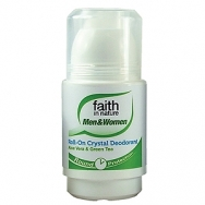 Faith Aloe Vera & Tea Tree - Crystal Roll-on Deodorant - 50ml