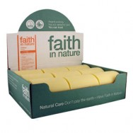 Faith in Nature - Orange Soap - Unwrapped 100gm bar