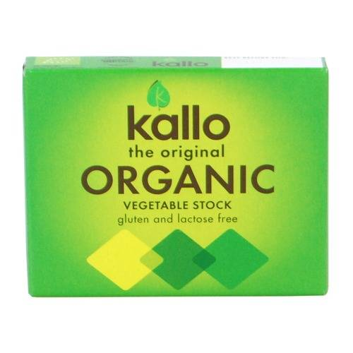 Kallo Original Organic Vegetable Stock Cubes - 6 cubes