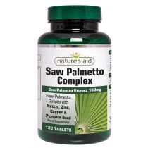Natures Aid Saw Palmetto Complex For Men (60 tablets)