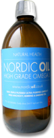 Nordic Oil - High Grade Omega 3 - 500ml