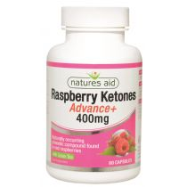 Natures Aid Raspberry Ketones Advanced - 400mg - 60 capsules